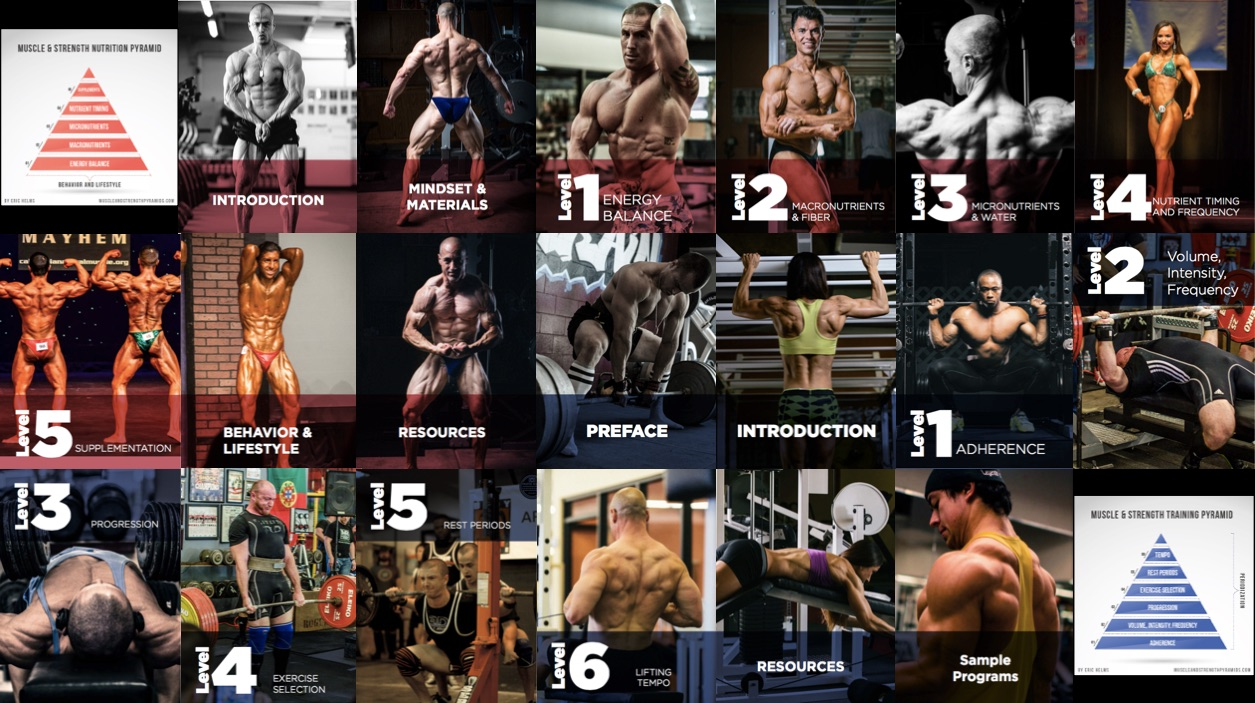 The Muscle and Strength Pyramid Books