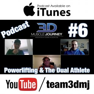 #6: Coaching Powerlifters & Dual Athletes