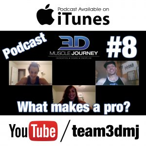 #8: Pro vs. Amateur Bodybuilding