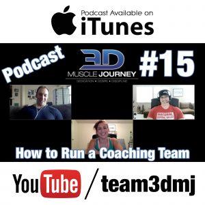 #15: How To Run A Coaching Team