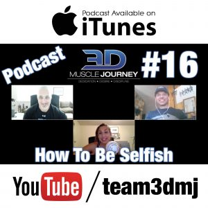 #16: How To Be Selfish