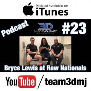 #23: Bryce Lewis & Brad Loomis at USAPL Raw Nationals 2016