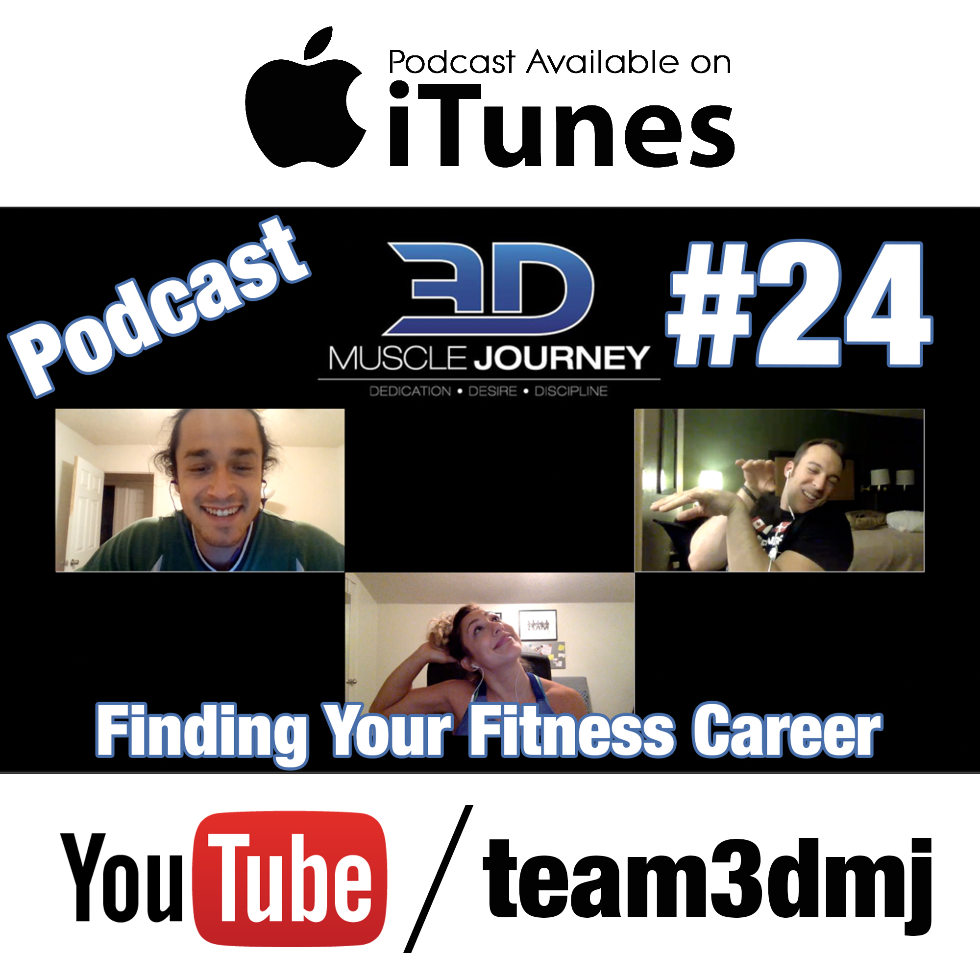 dmj podcast finding your fitness career
