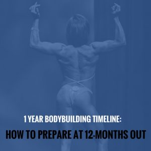 1 Year Bodybuilding Timeline: How to Prepare at 12-Months Out