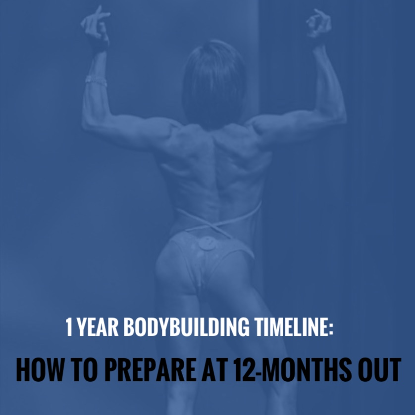 f32b559c89 1 Year Bodybuilding Timeline: How to Prepare at 12-Months Out - 3D Muscle  Journey -