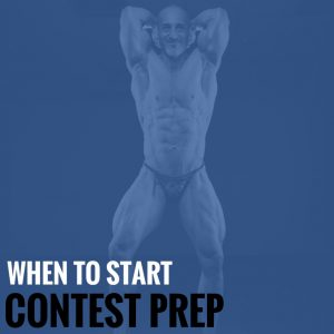 When Should You Start Contest Prep?