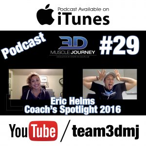 #29: Coach's Spotlight 2016 – Eric Helms
