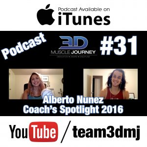 #31: Coach's Spotlight 2016 – Alberto Nuñez