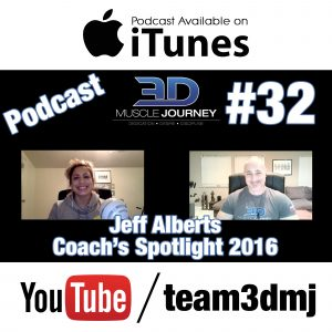 #32: Coach's Spotlight 2016 – Jeff Alberts