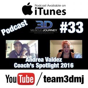#33: Coach's Spotlight 2016 – Andrea Valdez