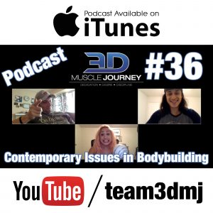 #36: Contemporary Issues in Natural Physique Sports