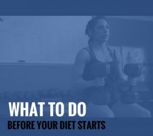 Set-Up Strategies: What To Do Before Your Diet Starts