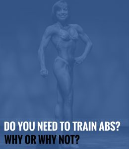 Do You Need to Train Abs? Why or Why Not?