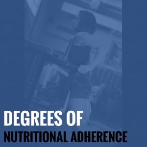 Degrees of Nutritional Adherence – Accuracy, Flexibility, and Consistency