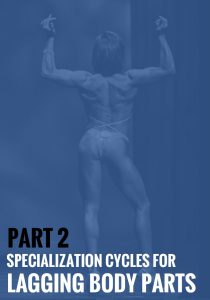 Part 2: Specialization Cycles for Lagging Body Parts
