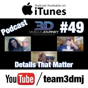 #49: The Details That Matter