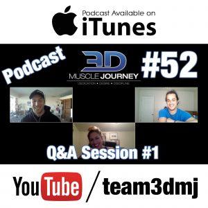 #52: Q&A Session #1