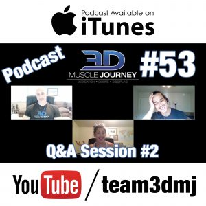 #53: Q&A Session #2