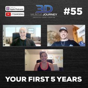 #55: Your First 5 Years in Bodybuilding