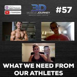 #57: What We Need From Our Athletes