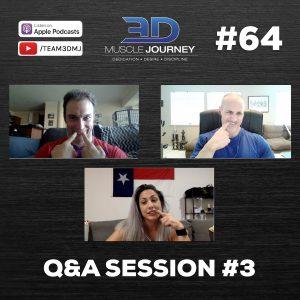 #64: Q&A Session #3