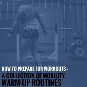 How to Prepare for Workouts – A Collection of Mobility & Warm-Up Routines