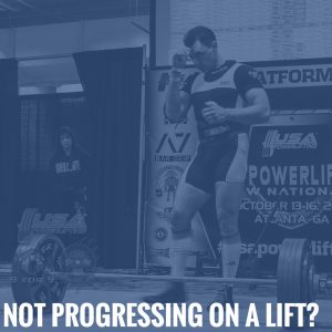 Not Progressing On a Lift? Take a Step Back in Volume as a Springboard for Future Progress
