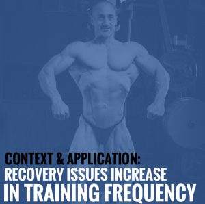 Context and Application: Recovery Issues Increase in Training Frequency?