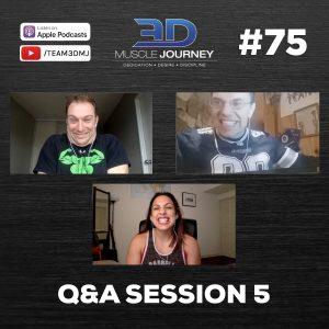 #75: Q&A Session 5
