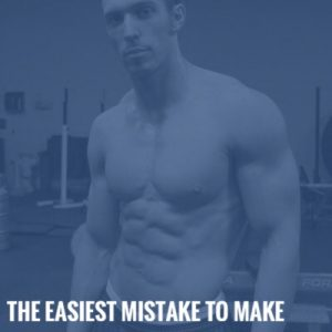 The Easiest Mistake to Make