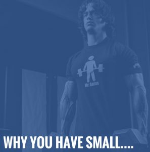Why you have small…..