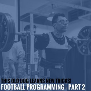 This Old Dog Learns New Tricks! Football Programming Part 2