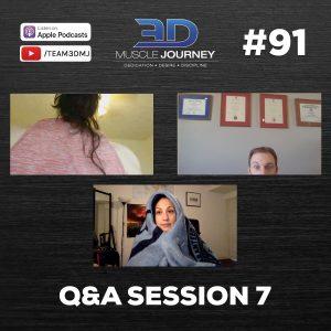 #91: Q&A Session 7