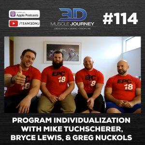 #114: Program Individualization with Mike Tuchscherer, Bryce Lewis, & Greg Nuckols