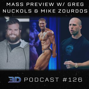 #126: MASS Insights w/ Greg Nuckols & Mike Zourdos