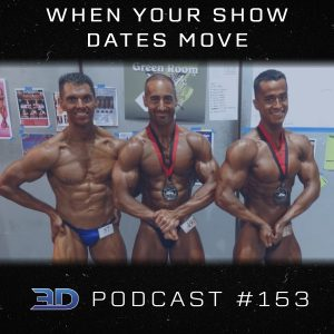 #153: When Your Show Dates Move
