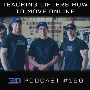 #156: Teaching Lifters How To Move Online