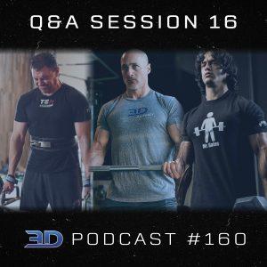#160: Q&A Session 16