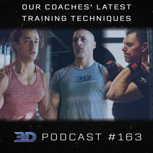 #163: Our Coaches' Latest Training Techniques
